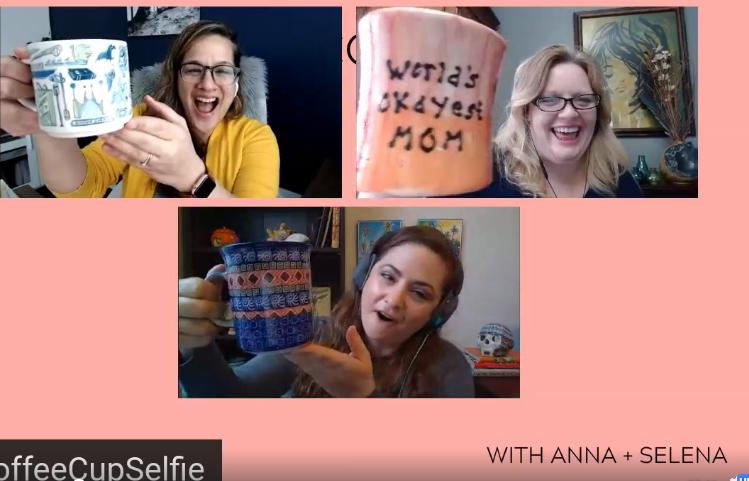 Coffee Cup Selfies