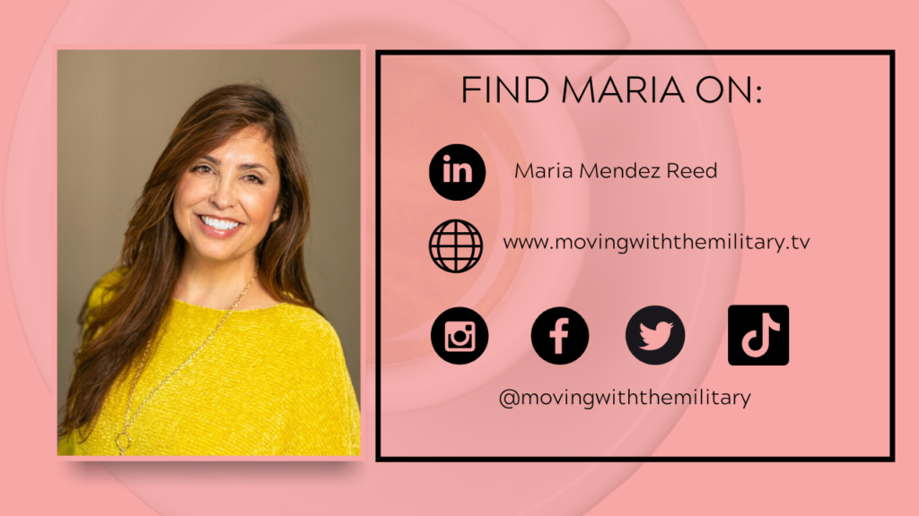 Where to find Maria Reed online