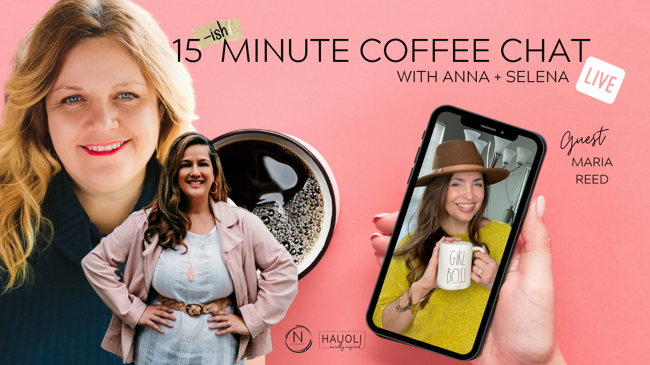 Maria Reed 15ish Minute Coffee Chat
