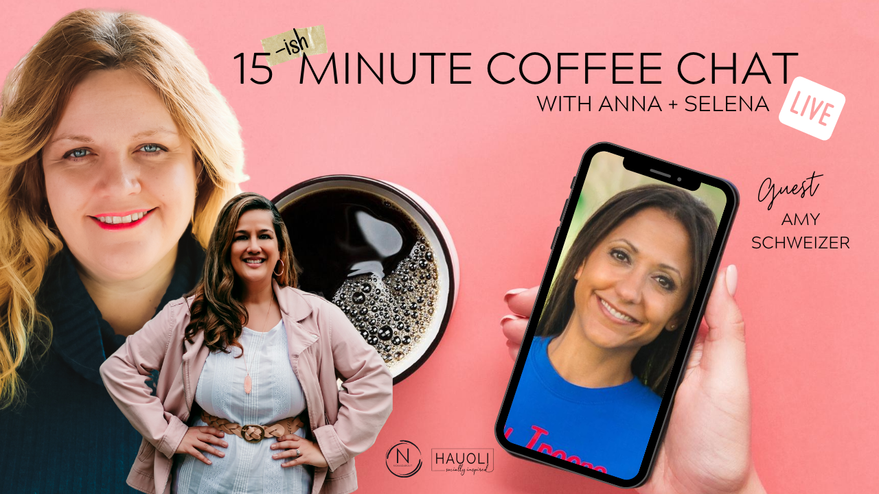 15ish Minute Coffee Chat with Amy Schweizer