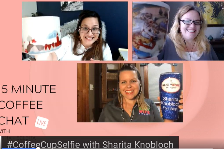 15ish Minute Coffee Chat with Sharita Knobloch