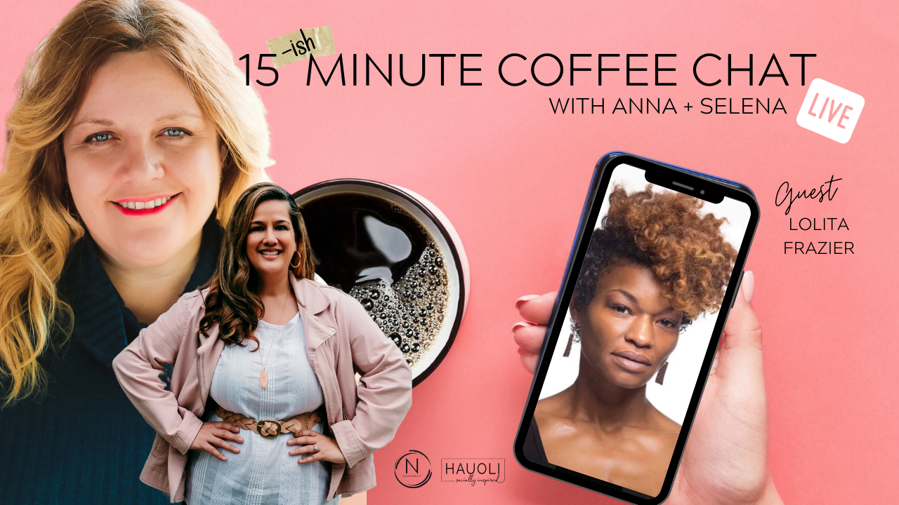 15ish Minute Coffee Chat with Lolita Frazier